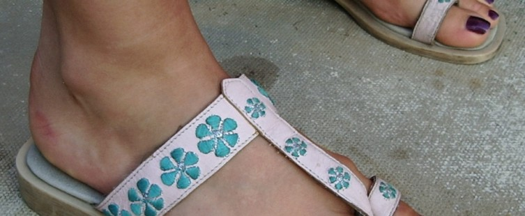 Thong type sandal